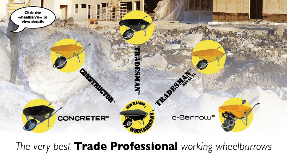 The very best Trade Professional working wheelbarrows